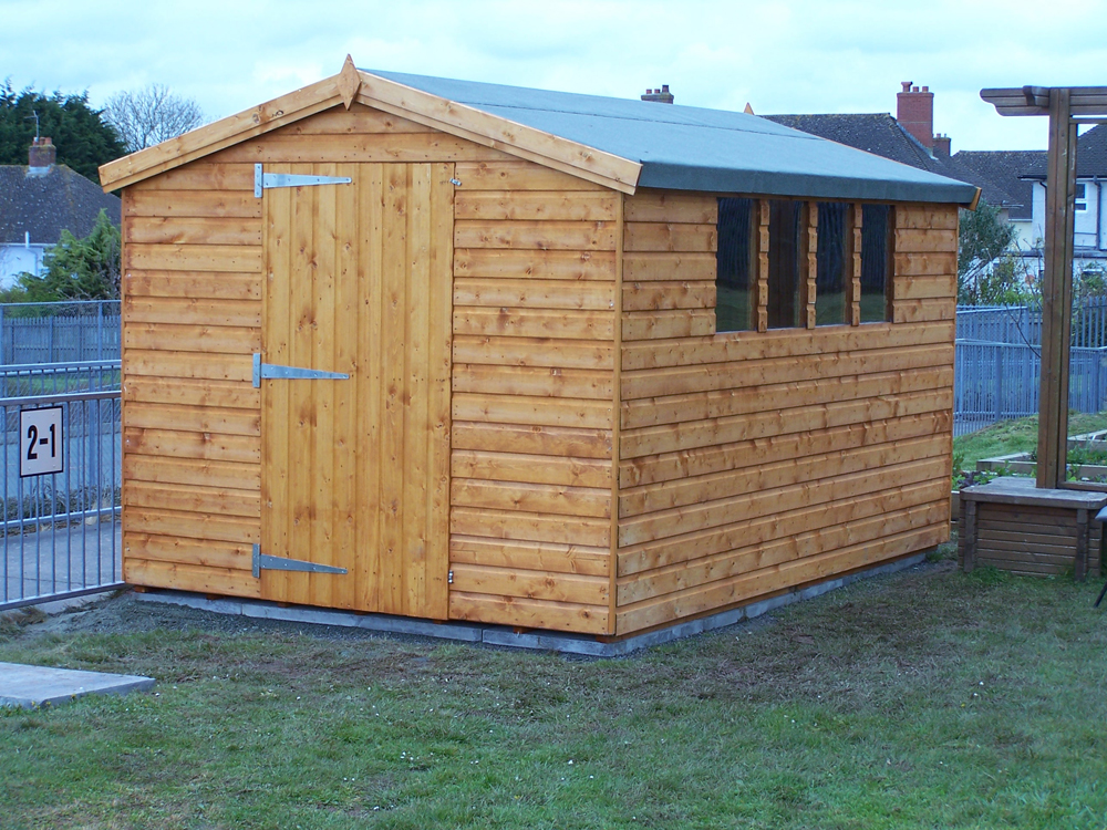 Garden Sheds Prices In Liverpool Merseyside And Greater Manchester