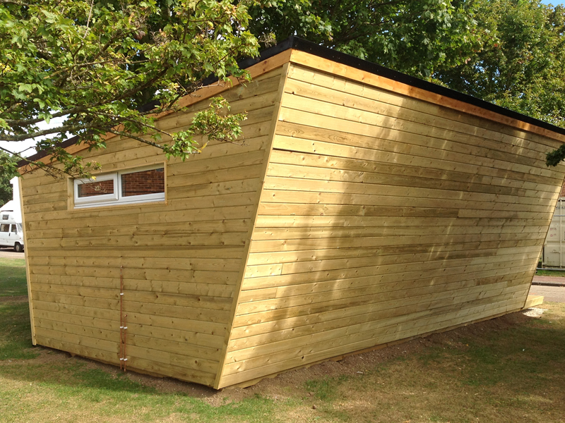 contemporary sheds and designer garden buildings from shed king