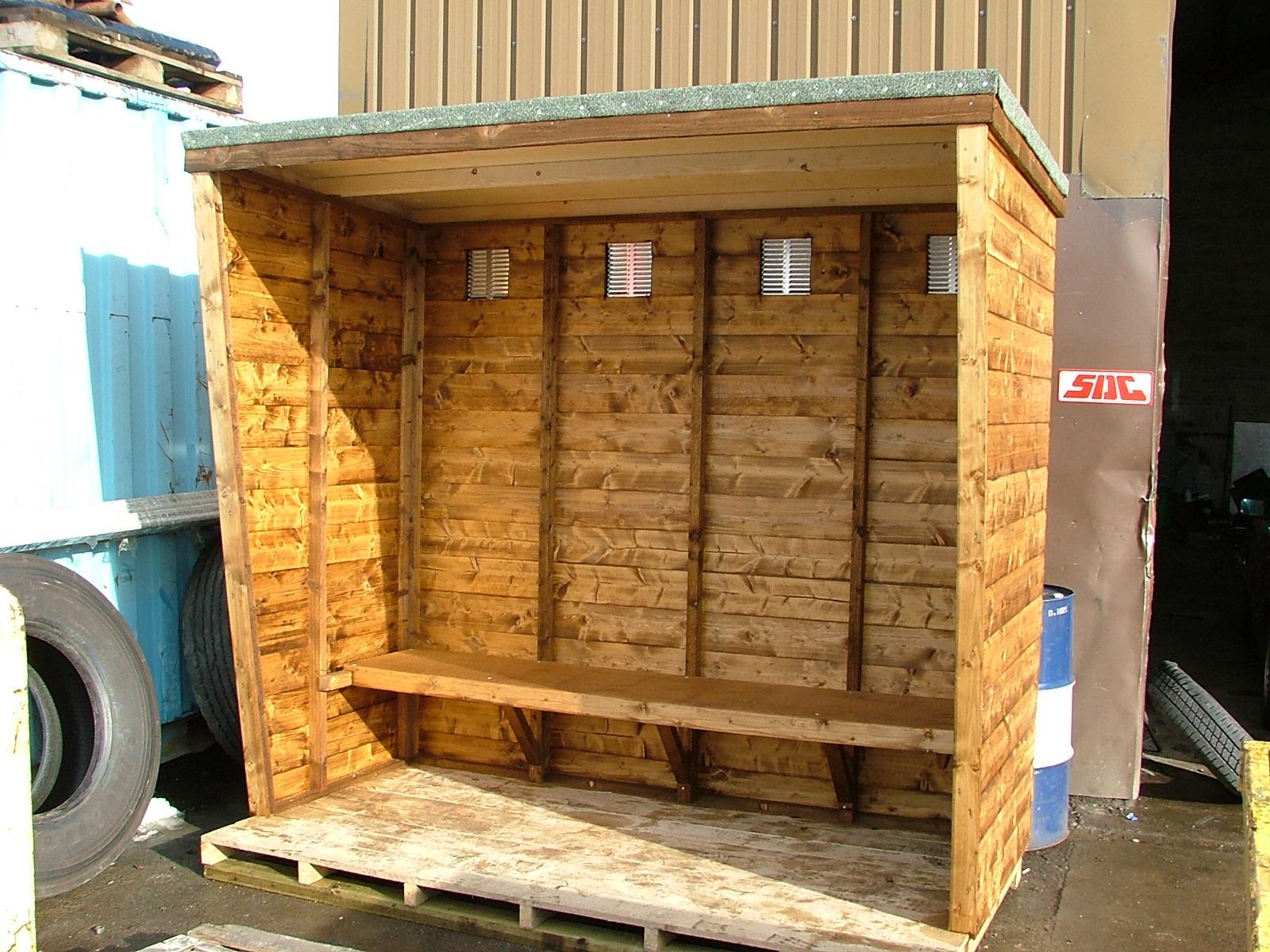 shed king based in liverpool merseyside timber smoking