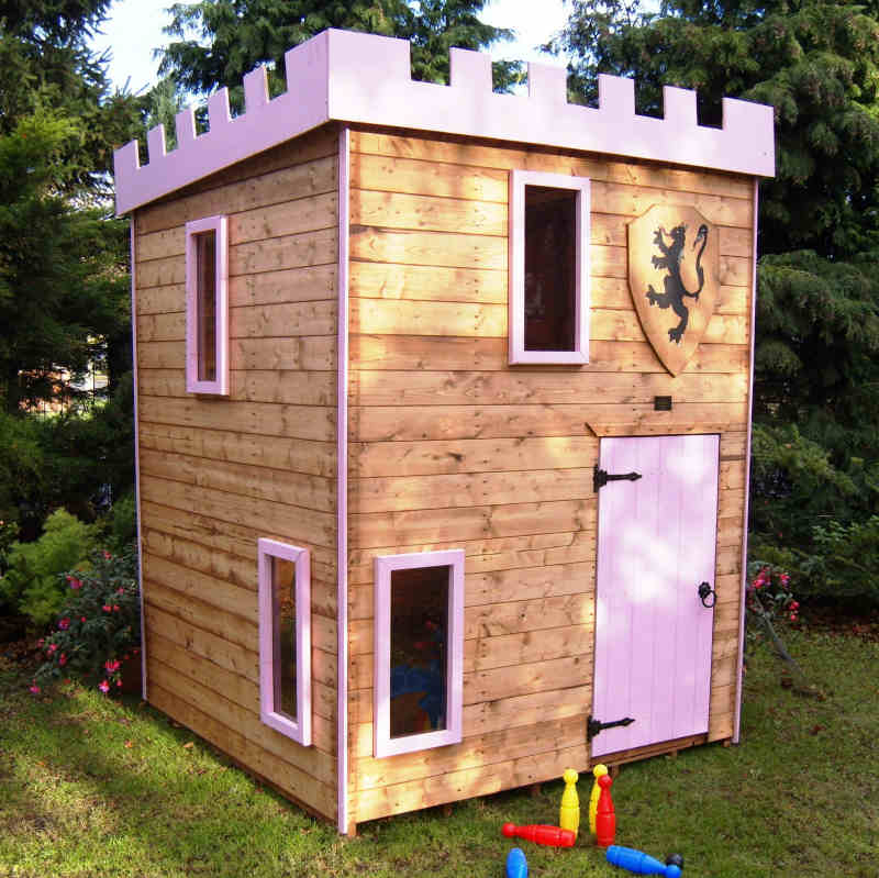Cheap timber wendyhouses playhouses merseyside wirral for Cheap outdoor playhouses