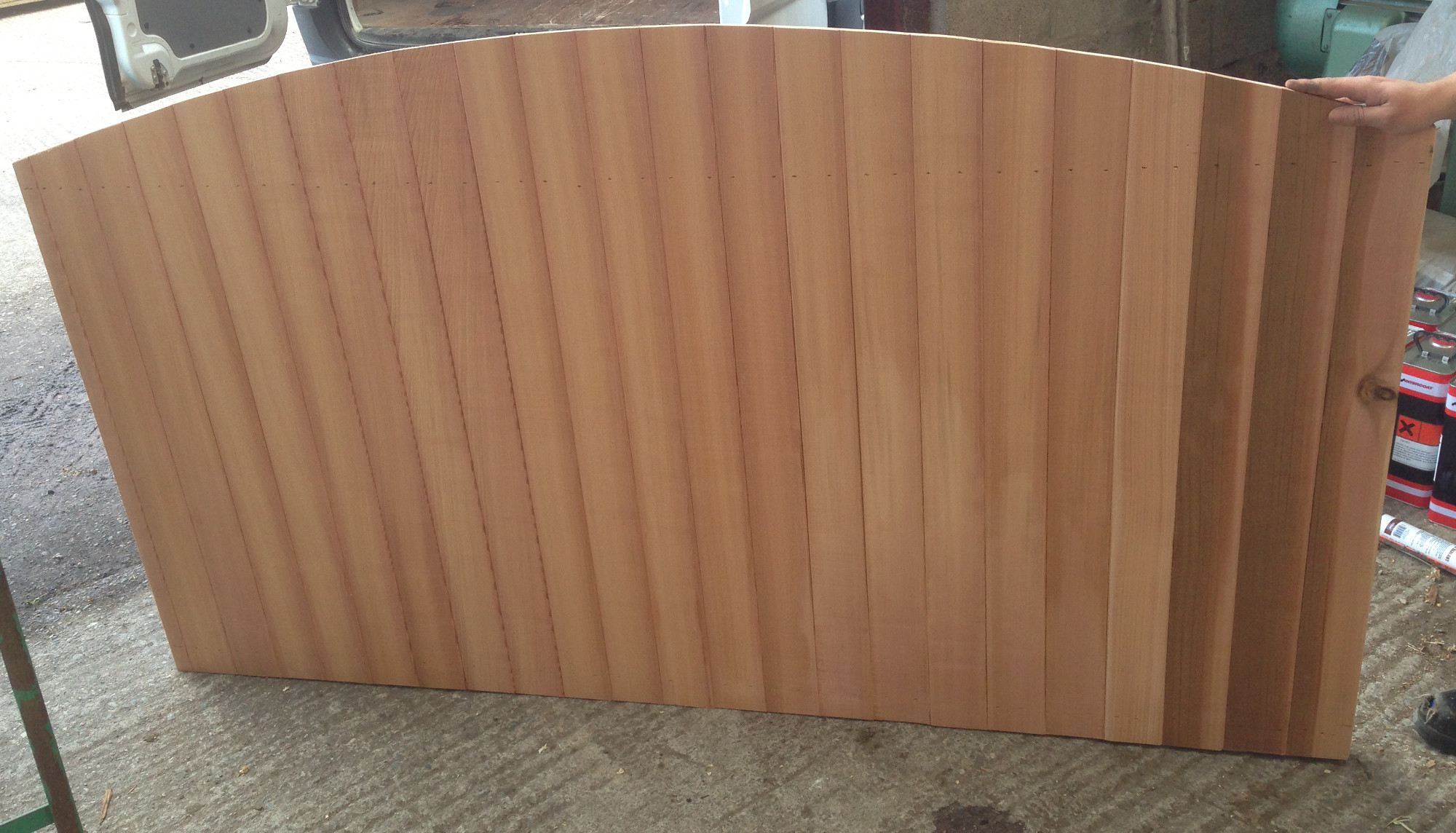 fencing liverpool fence panels cheap cedar slatted rustic gates