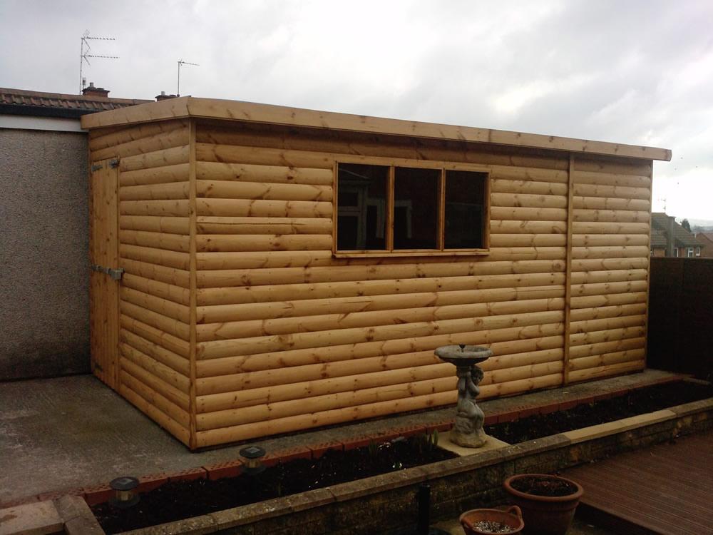 Log Cabins High Quality Log Lap Timber Garden Buildings Uk