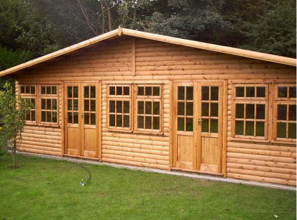log pavilion cabin