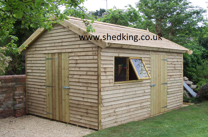 Luxury Outdoor Sheds : contemporary sheds and designer garden buildings from shed king
