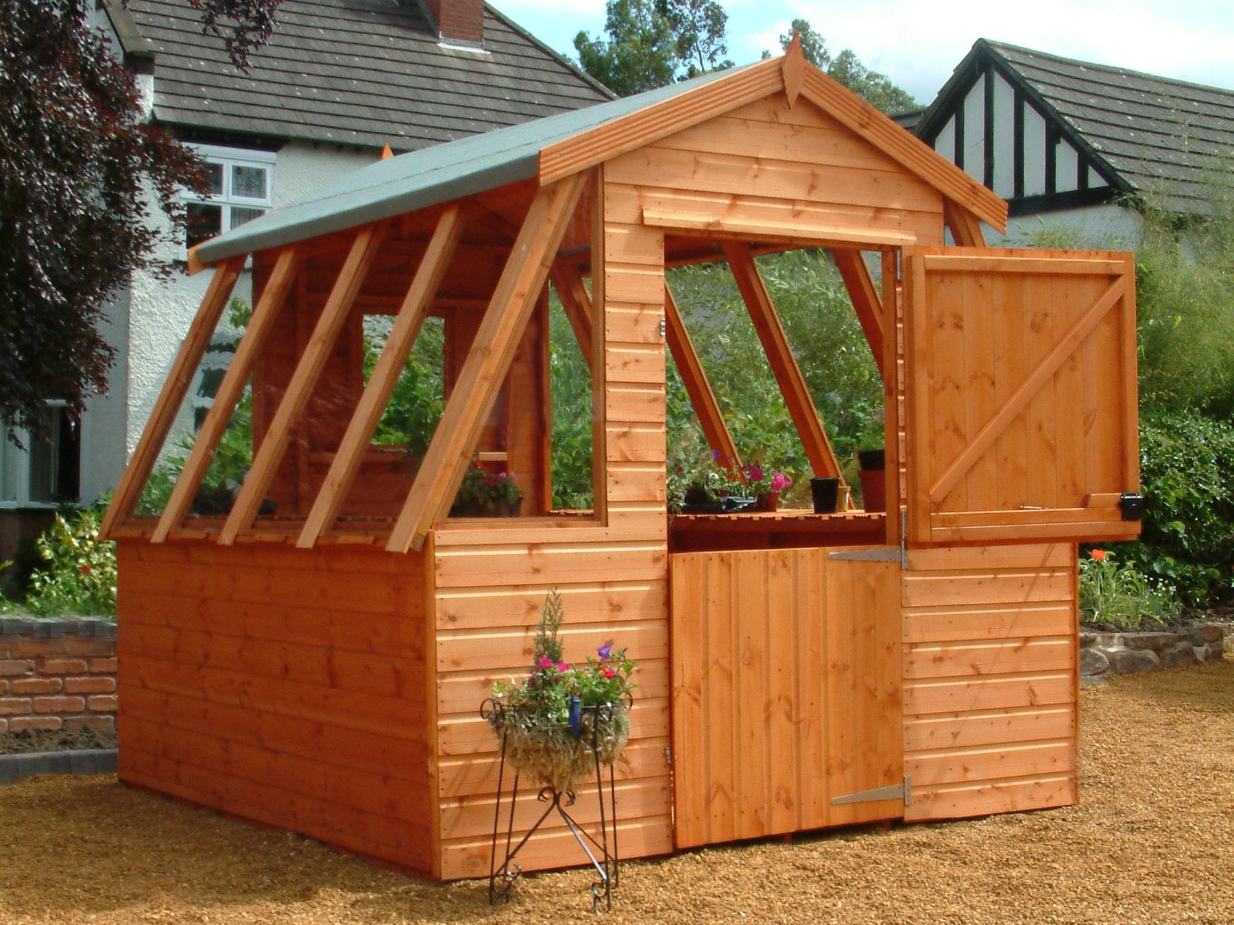 Potting Grow Shed Liverpool Southport Warrington