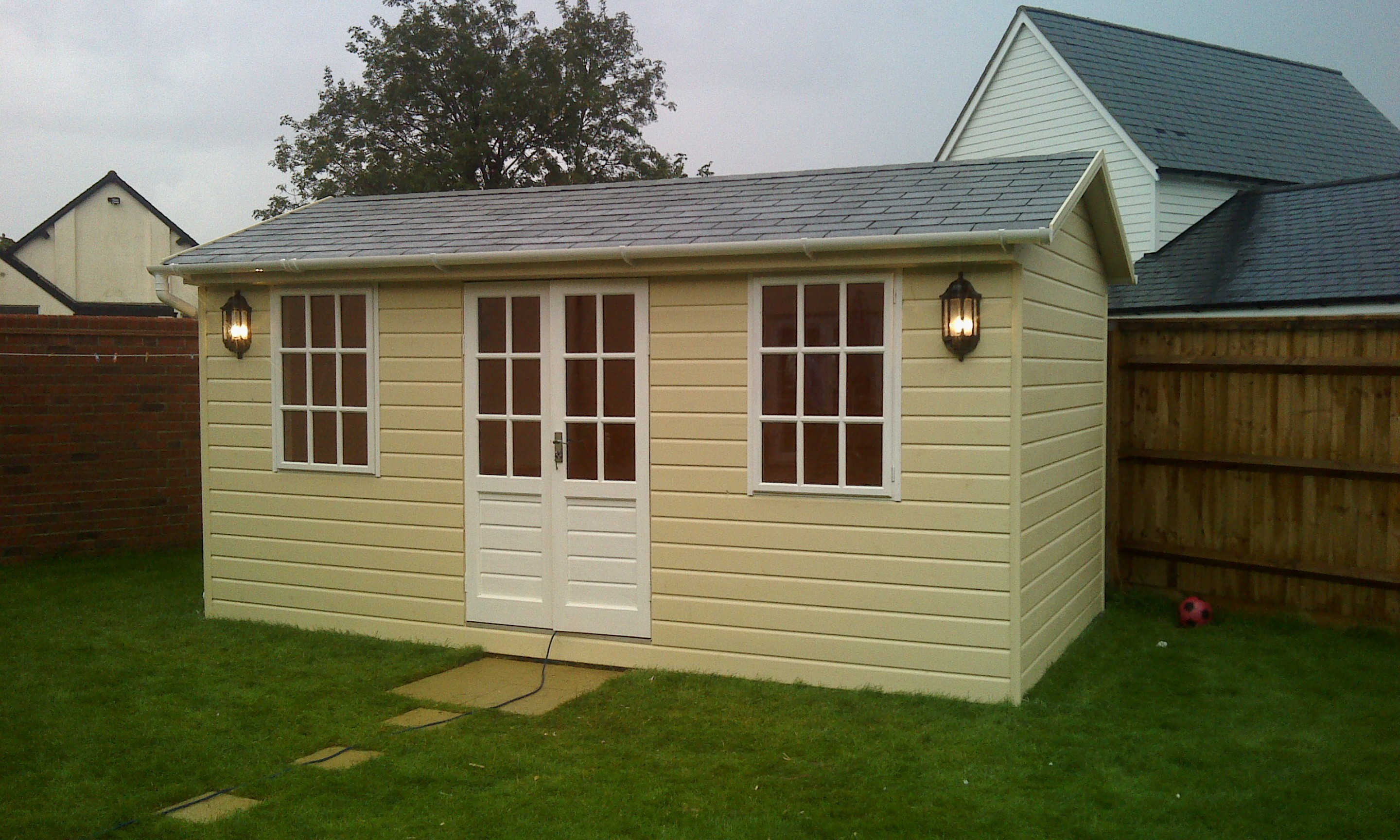 Summer houses cheshire for Luxury garden buildings