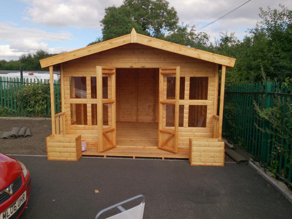 Mersey Cottage Shed Gallery Page Summerhouses In Merseyside