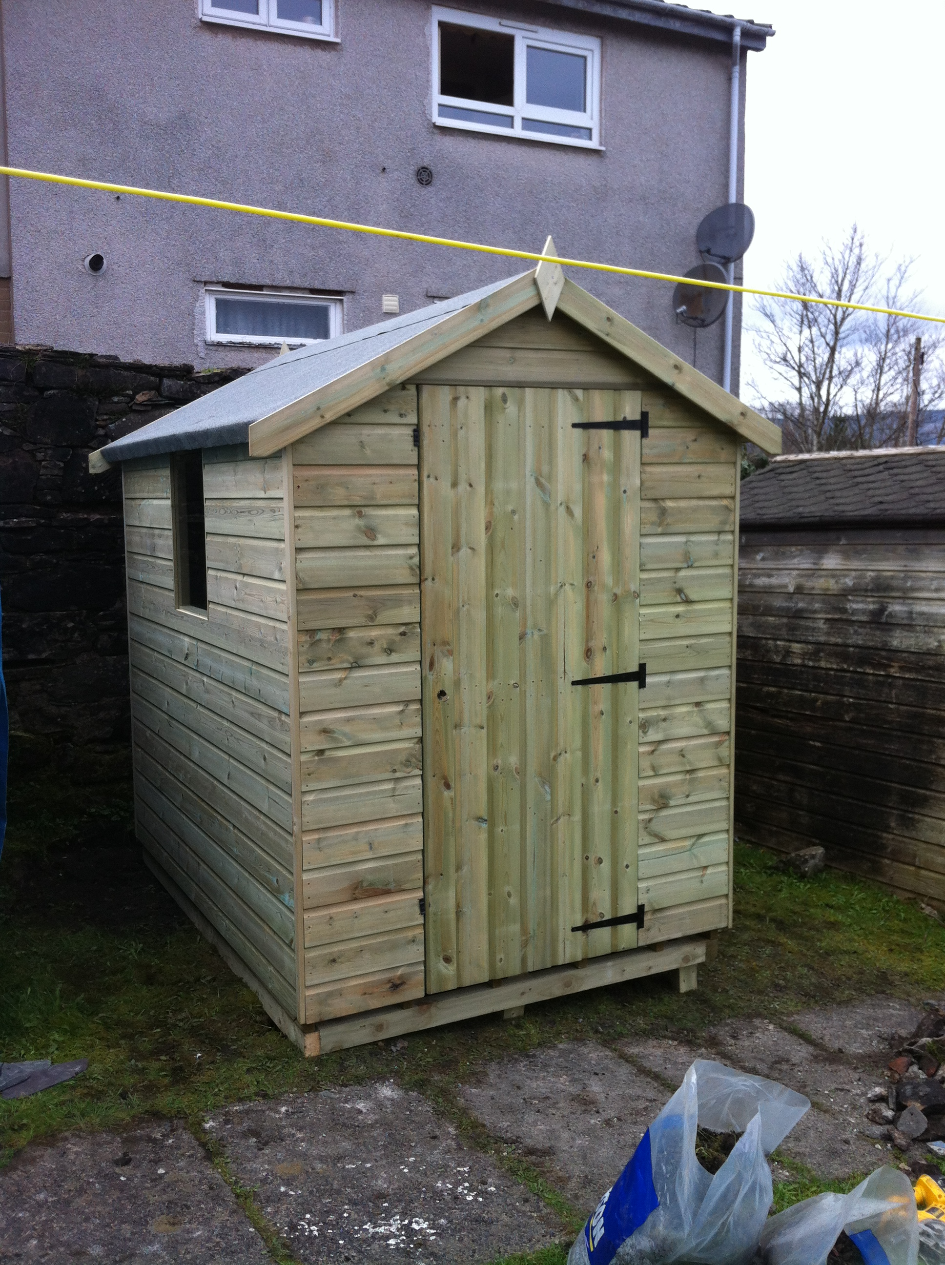 Garden sheds prices in liverpool merseyside and greater for Garden shed north wales