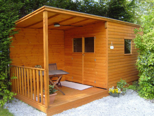 Garden Sheds Yeovil pent veranda garden studio an imaginative place in your garden for